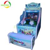 Juegos de disparos de agua de plástico para niños simulador de máquina de juego de iluminación LED