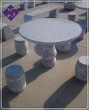Het natuurlijke Meubilair van het Graniet voor de Decoratieve Lijst van de Tuin