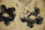 Свитер пальто зимы шерсти флоры женщин теплый