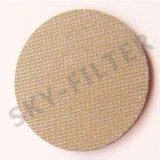 316L Stainless Steel Copper Sintered Porous Metal Filter Disc