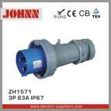 IP67 3p 63A High End Plug for Industrial