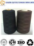 Hilo de coser Memoria-Hecho girar el 100% de la materia textil del poliester del Bueno-Surtidor