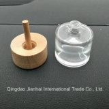 Empfindliche Großhandelsglasware-Glasflasche für wesentliches Öl