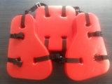 Trois pièces Matériel en PVC Oil Platform Work Life Jacket