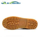 Baja de acero de alta calidad en el tobillo Toe Zapatos de seguridad
