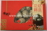 De traditionele Chinese Paddestoel Shiitake van de Thee van het Voedsel Droge Gestreepte