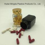MD-166 Pet de alta calidad 80ml botella de plástico cuadrada para envases de medicina