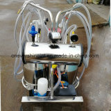 ヤギの搾り出す機械電気搾乳器SS304の二重バケツ