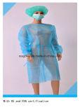 Hospital não tecidos vestido de isolamento descartáveis