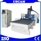Carbinetの机の木工業領域のためのディスクAtc CNCの打抜き機