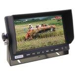 Ahd 1080P Carro Monitor TFT Retrovisor com 3CH Entrada de vídeo