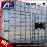 6060-T6 painel concreto de alumínio descofragem
