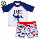 새로운 디자인 인쇄 소년 경솔한 가드 고정되는 수영복 수영복