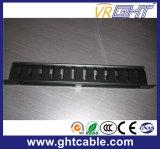 Подключение питания 12-кабель управления кабель для установки в стойку