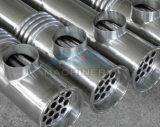 Condensador del shell y del cambiador/del vapor de calor del tubo/cambiador de calor del acero inoxidable