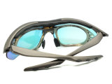 New Model Plastic Sport Bike Eyewear Frame Glasses com Tr90