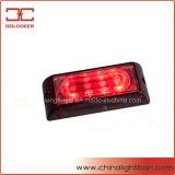 선형 4W 석쇠 빛 LED 경고등 (SL6201-S 빨강)