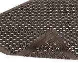 排水の反スリップのゴム製床のマット、浴室のゴムマット