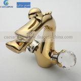 浴室のための金真鍮のドラゴンの洗面器のミキサー