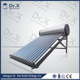 No hay presión calentador de agua solar interno para uso doméstico