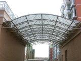 Feuille de toiture en fibre de verre opale durable panneaux en PRF pour la construction