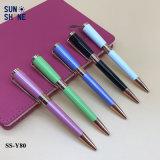 ハイエンドギフトのための金属のペンのねじれの処置によって個人化されるペン