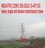 Megatro 220kv 2e6 Sdjc Gleichstrom-schwerer Winkel-und Spannkraft-Übertragungs-Aufsatz
