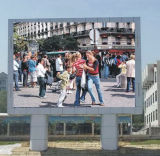 Экономичная рекламируя индикация СИД полного цвета напольная (P20)