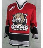 Мужской костюм для детей женщин Whl Принц Джордж Cougars белый красный черный 100% сшитое по хоккею футболках Nikeid S-6XL Goalit вырезать пользовательские любое имя любой № футболках NIKEID