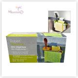 Küche-Wannen-Pinsel/Geschirrtuch-Schwamm-Halter mit Absaugung-Cup