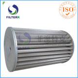 Замена фильтрующего элемента фильтра грубой очистки природного газа