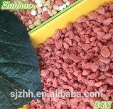 Калийные удобрения красный хлористого калия Kcl для внесения гранулированных удобрений 60%