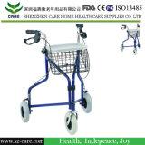 Marcheur de marche bi-directionnel d'aide de bâti en aluminium