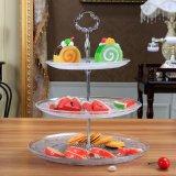 Горячие стеклянные блюда надувательства 3PCS/стеклянная пластинка свадебного банкета для украшения