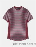 남자를 위한 짧은 소매 지구 면 주문 t-셔츠
