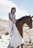 セクシーなシフォンラインウェディングドレスのイブニング・ドレス(BH009)