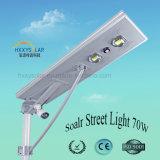 Беспроводной солнечной улице лампа 70 Вт с системами CCTV камеры