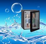 ロックオプションを指定した容量32リットル12Vポータブル冷蔵庫