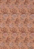Напечатанное покрашенное реактивное ткани