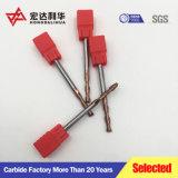 合金鋼鉄のための端製造所-4のフルートの鋼鉄超硬合金の端製造所のカッターの炭化タングステンの製粉カッター