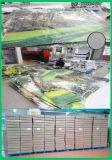 屋外の塀のカスタム印刷のビニールPVC網の旗(TJ-03)