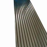 Zinco médios quente folha de metal de metal corrugado de alumínio