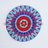 Fashion Colorful Round Yrn Ethnic Embroidery Patch Garment Accessories Wholesale