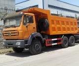 6X4 북쪽 벤츠 팁 주는 사람 트럭 덤프 트럭 Beiben 트럭