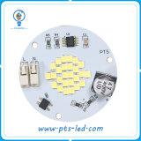 Módulo redondo de la CA 110V/220V LED del IP 65 Driverless 3-5W para la luz de bulbo