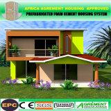 2층 태양 Prefabricated 별장/강철 모듈 건물 조립식 가옥 집