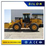 Catpillar 5000kg cargadora de ruedas con el motor Weichai