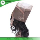 2018 nuovo Frontal dei capelli umani 360 di Perurian di stile