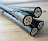 Poli Insulated Aluminum Wire AAC/AAAC Cable per Duplex e Triplex Conductor Aluminium Strands