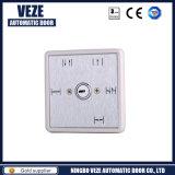 Interruptor de llave de metal de cinco rangos para puerta automática